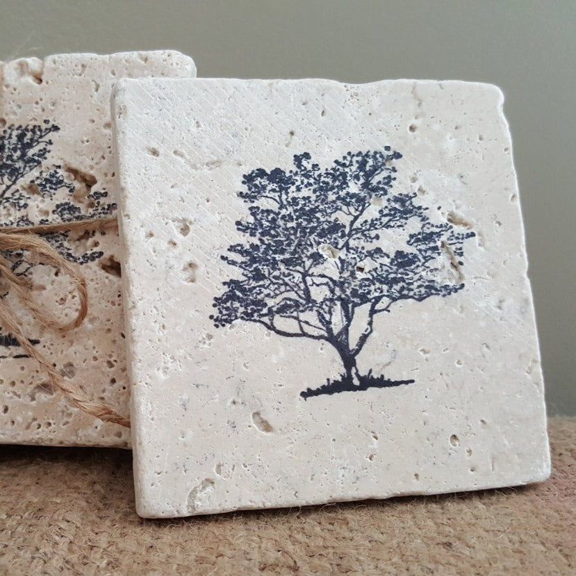 Tree of Life Coaster Set Coasters A Rustic Feeling