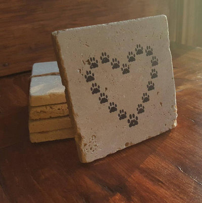 Dog Gift, Dog, Dog Lover Gift, Pet Gift, Dog Mom, Dog Dad, Coaster Set, Drink Coasters, Coasters,  Friend Gift, Puppy Gift, Gift for Dog Mom