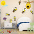 Bee Hive Nursery Wall Decals