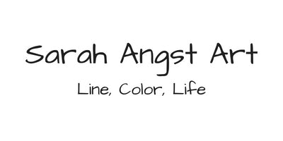 Sarah Angst Art - Line Color Life