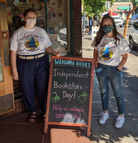 Waucoma Bookstore in Hood River, Oregon