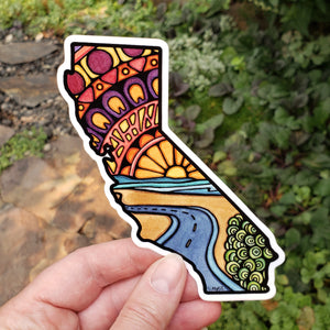 California State Sticker