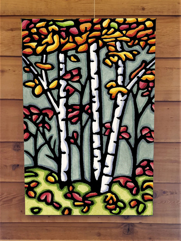 Autumn Woods Canvas