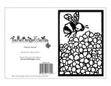 Color Your Own Bumble Bee Card - Sarah Angst Art Greeting Cards, Giclee Prints, Jewelry, More