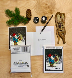The Tomten - Packaged Christmas Cards