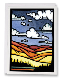The Valley - 229 - Sarah Angst Art Greeting Cards, Giclee Prints, Jewelry, More