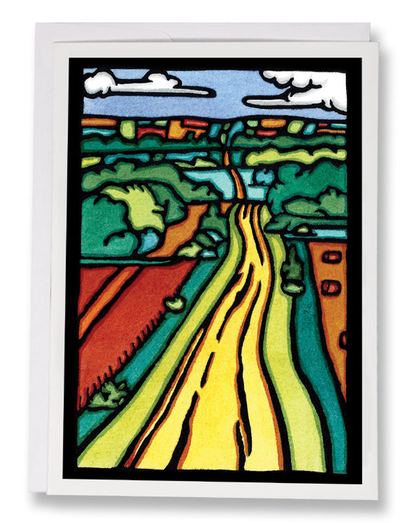 The Road - 230 - Sarah Angst Art Greeting Cards, Giclee Prints, Jewelry, More