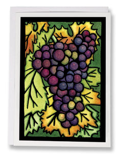 Grapes - 236 - Sarah Angst Art Greeting Cards, Giclee Prints, Jewelry, More