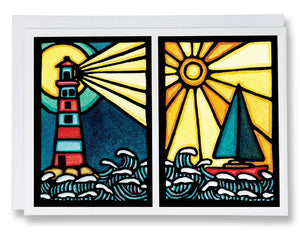 Set Sail & Shine Bright - Sarah Angst Art Greeting Cards, Giclee Prints, Jewelry, More