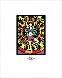 "Yoga - 8""x10"" Overstock - Sarah Angst Art Greeting Cards, Giclee Prints, Jewelry, More"