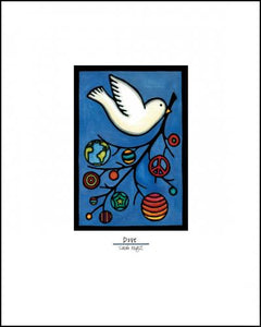 "Dove - 8""x10"" Overstock - Sarah Angst Art Greeting Cards, Giclee Prints, Jewelry, More"