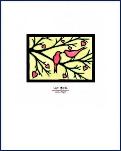Love Birds - Simple Giclee Print