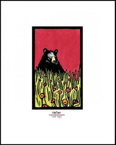 Naptime Bear - Simple Giclee Print - Sarah Angst Art Greeting Cards, Giclee Prints, Jewelry, More