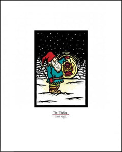 "Tomten - 8""x10"" Overstock - Sarah Angst Art Greeting Cards, Giclee Prints, Jewelry, More"