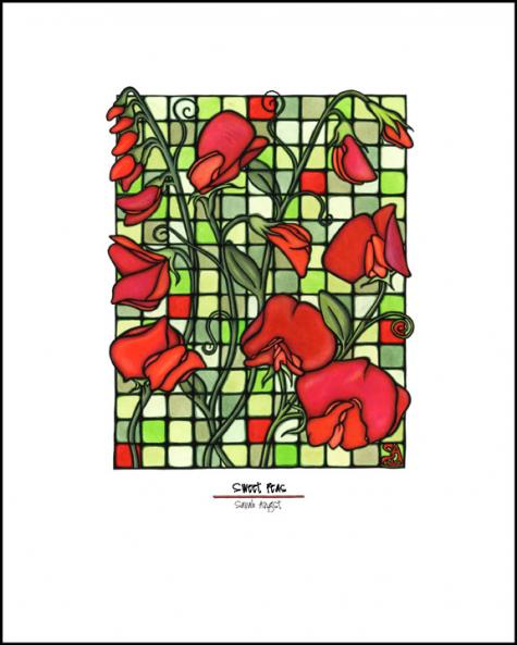 Sweet Peas - Simple Giclee Print