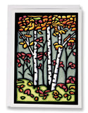 Autumn Woods - 033 - Sarah Angst Art Greeting Cards, Giclee Prints, Jewelry, More