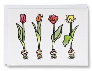 SA038: Tulips - Sarah Angst Art Greeting Cards, Giclee Prints, Jewelry, More