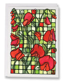 SA045: Sweet Peas - Sarah Angst Art Greeting Cards, Giclee Prints, Jewelry, More