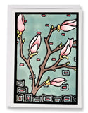 Magnolia - 047 - Sarah Angst Art Greeting Cards, Giclee Prints, Jewelry, More