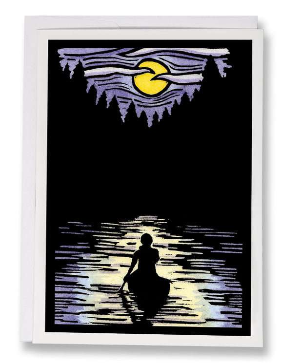 SA068: Solitude - Sarah Angst Art Greeting Cards, Giclee Prints, Jewelry, More