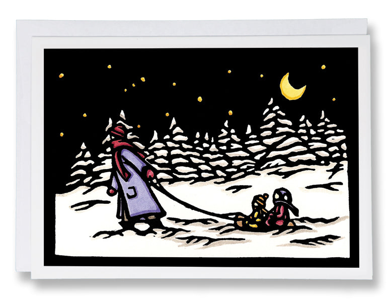Heading Home - Sarah Angst Art Greeting Cards, Giclee Prints, Jewelry, More