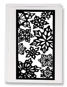 SA092: Snowflakes - Sarah Angst Art Greeting Cards, Giclee Prints, Jewelry, More