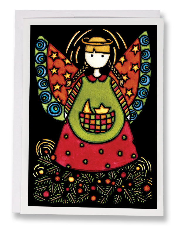Angel - Sarah Angst Art Greeting Cards, Giclee Prints, Jewelry, More
