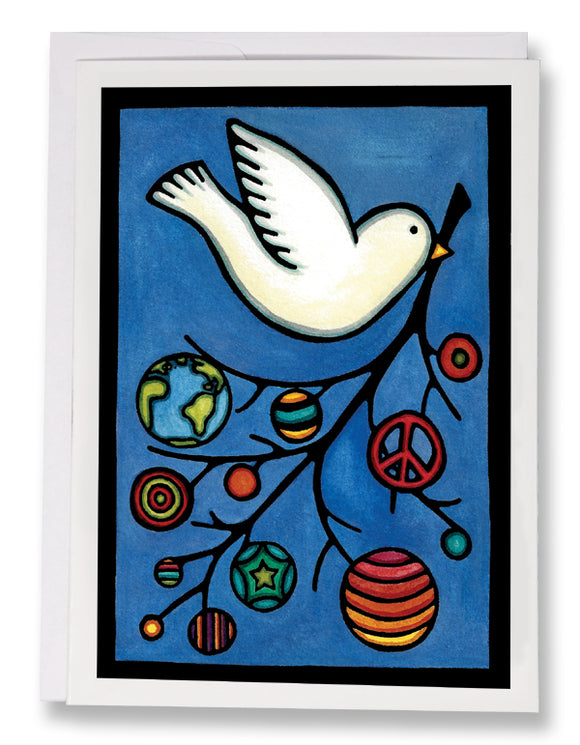 SA110: Dove - Sarah Angst Art Greeting Cards, Giclee Prints, Jewelry, More