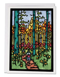 Hiking - 155 - Sarah Angst Art Greeting Cards, Giclee Prints, Jewelry, More