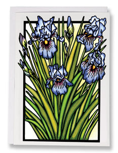 SA168: Iris - Sarah Angst Art Greeting Cards, Giclee Prints, Jewelry, More