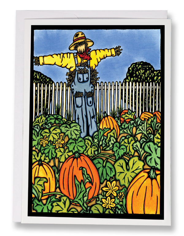 Pumpkin Patch - Sarah Angst Art Greeting Cards, Giclee Prints, Jewelry, More