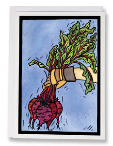 SA184: Beets - Sarah Angst Art Greeting Cards, Giclee Prints, Jewelry, More