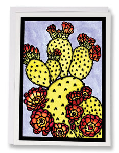 SA194: Cactus - Sarah Angst Art Greeting Cards, Giclee Prints, Jewelry, More