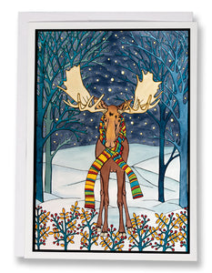 The Moose - 197 - Sarah Angst Art Greeting Cards, Giclee Prints, Jewelry, More