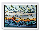 Alpenglow - 206 - Sarah Angst Art Greeting Cards, Giclee Prints, Jewelry, More