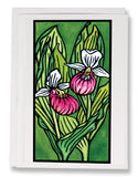 Lady Slippers - 216 - Sarah Angst Art Greeting Cards, Giclee Prints, Jewelry, More