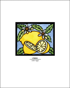 Lemons - Simple Giclee Print - Sarah Angst Art Greeting Cards, Giclee Prints, Jewelry, More