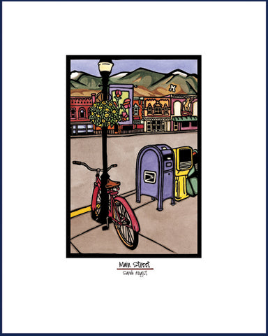 Main Street - Simple Giclee Print