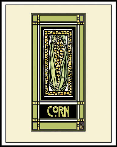Corn - Mission Style Giclee Print