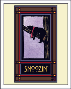 Snoozin - Mission Style Giclee Print
