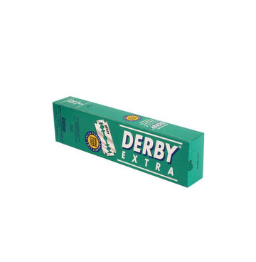 DERBY EXTRA 100X DOUBLE BLADES (GREEN)