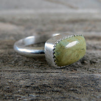 Clay Canyon Variscite and Sterling Silver Ring