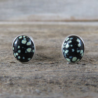 New Lander and sterling silver stud earrings