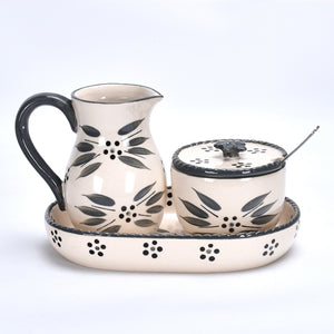 Old World Oil & Grated Cheese Set