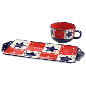 Star Stitched Soup & Sandwich Set