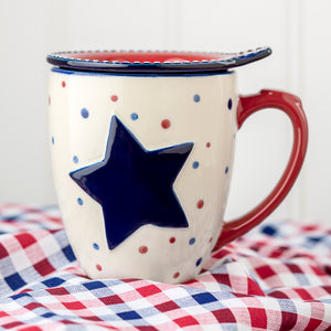 Tara's Must-Haves Star Stitched 18 oz. Mug