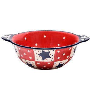 Tara's Must-Haves Star Stitched 3 qt Bowl