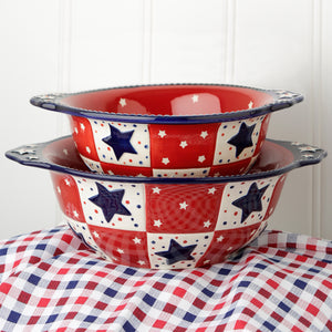 Tara's Must-Haves Star Stitched 2 qt Bowl