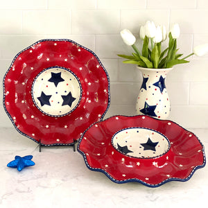 Tara's Must-Haves Star Stitched Set of 2 Egg Trays