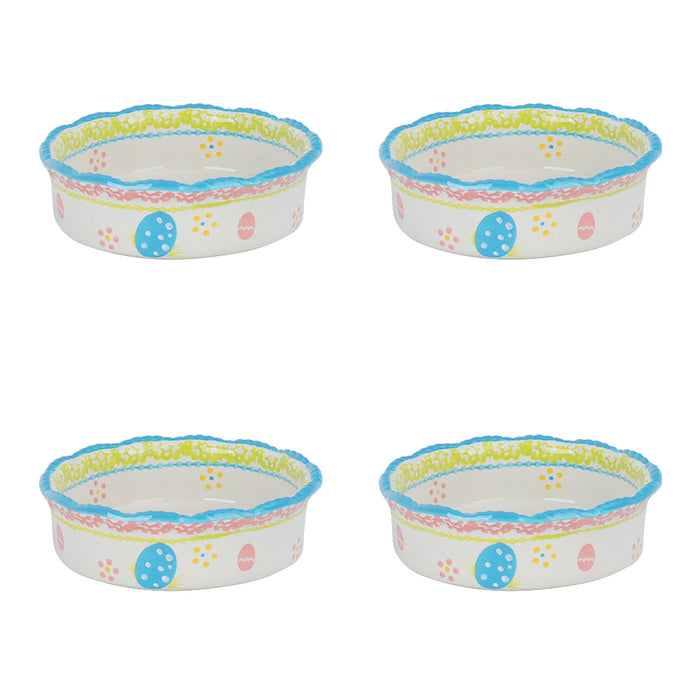 Set of 4 Mini Pie Plates